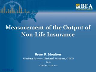 Measurement of the Output of Non-Life Insurance