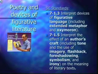 Poetry and devices of figurative literature