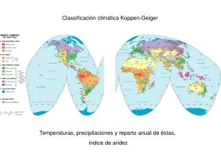 Classificación climàtica Koppen-Geiger