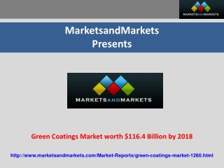 Green Coatings Market
