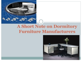 Dormitory Furniture Manufacturers