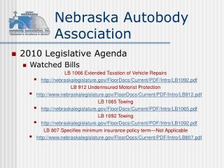 Nebraska Autobody Association