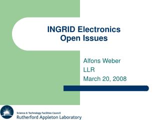 INGRID Electronics