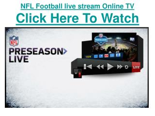 watch pittsburgh steelers vs washington redskins nfl footbal