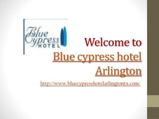 Hotel in Arlington Texas