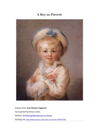 A Boy as Pierrot--Artisoo