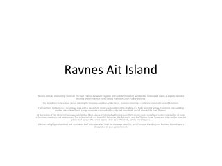 Ravens Ait Island