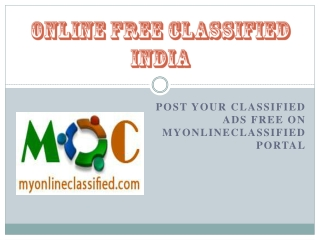 Online Free Classified India
