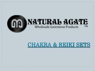 Agate Chakra and Reiki Sets