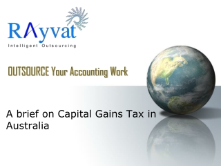 Capital Gains tax in Australia