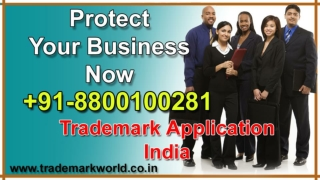 Trademark Application India File Right Now TM Registration