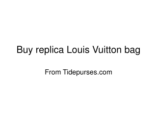replica chanel bags from tidepurse