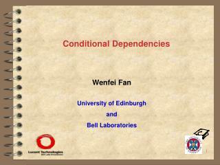 Conditional Dependencies