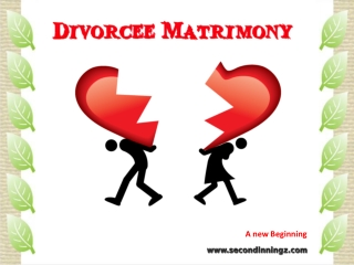 Divorcee Matrymony | Divorcee Matrimonial Site India