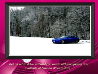 Top Quality Winter Tires and Rims on Sale in Canada