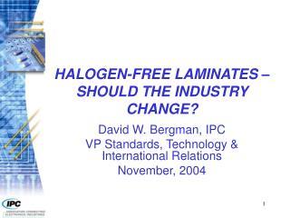 halogen-free laminates