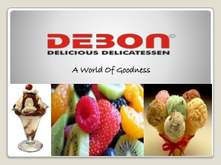 DEBON-One Shop for all Necessary Items