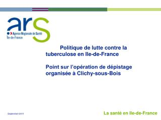 La santé en Ile-de-France