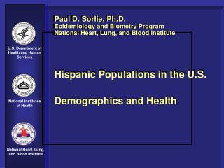 U.S. Hispanic Population: 2002
