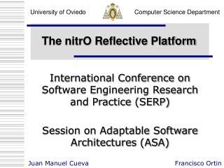The nitrO Reflective Platform