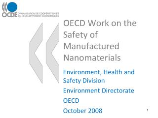 Manufactured Nanomaterials and Chemical Safety