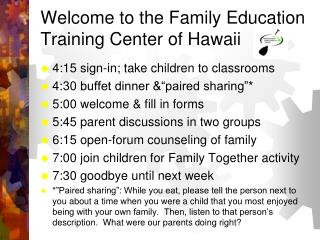 Family Education Training Center of Hawaii (FETCH)