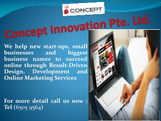 Latest Website Design and Web Development Solution in Singap