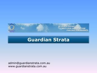 Guardian Strata Service