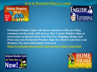 Window Signs For Customizing And Promote Upcoming Event