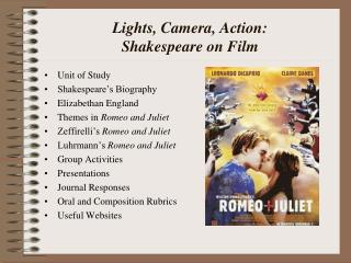 Lights, Camera, Action: