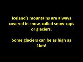Eyjafjallajökull(77 km2)