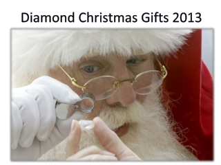 Diamond Jewelry Best Christmas Gifts Ideas 2013