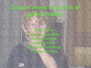 Support needs of parents of gifted children