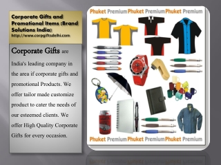 Corporate Business Gifts Item Supplier in Delhi - Brand Solutions India
