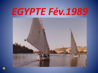 EGYPTE Fév.1989
