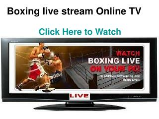 watch eric morel vs daniel quevedo live streaming online hd