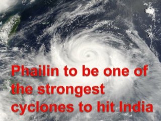 Phailin to be one of the strongest cyclons to hit India