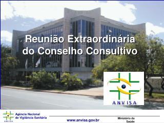 Reunião Extraordinária do Conselho Consultivo