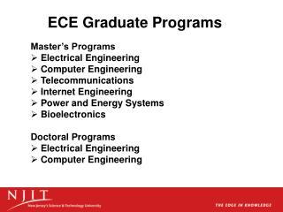 ECE Graduate Programs