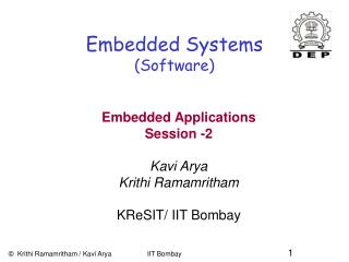 Embedded Systems (Software)