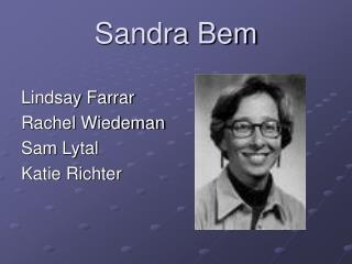 Sandra Bem