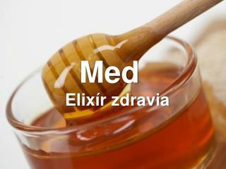 Elixír zdravia