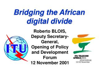 Bridging the African 