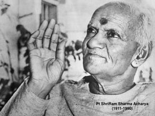 Pt ShriRam Sharma Acharya(1911-1990)