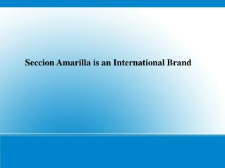Seccion Amarilla USA