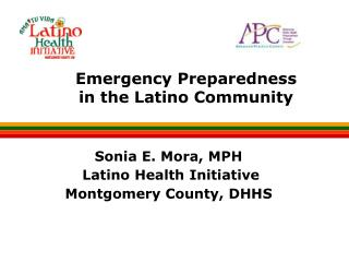 Emergency Preparedness in the Latino Community