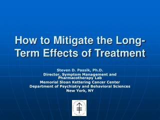 How to Mitigate the Long-Term Effects of Treatment