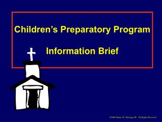 Children's Preparatory Program