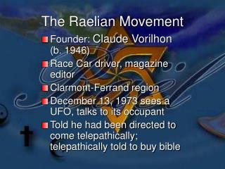 The Raelian Movement