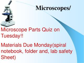 Microscopes/